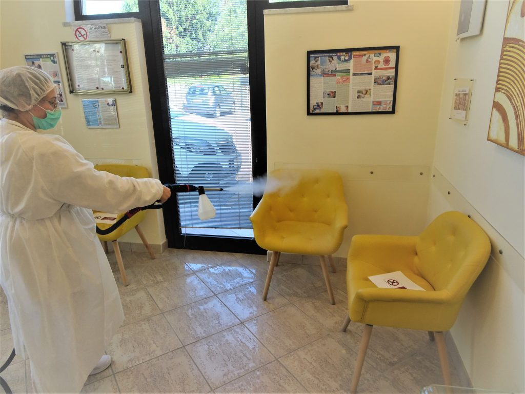 Sanificazione Dentista Del Bianco Lucca