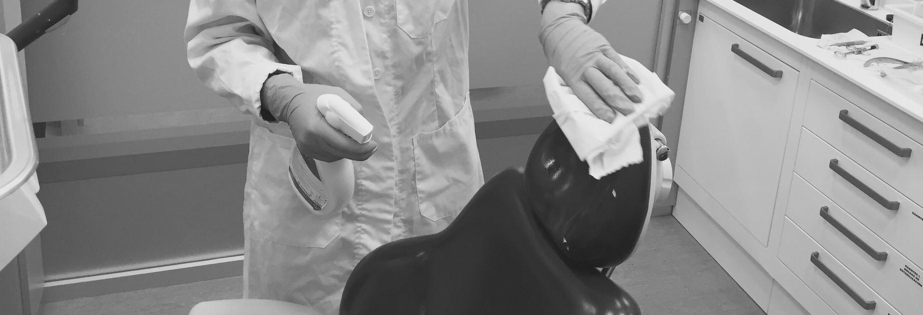 sanificazione ambienti dentista