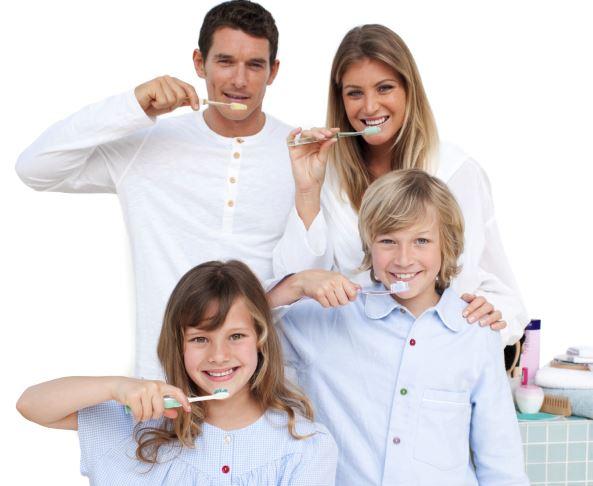 dentista per la famiglia