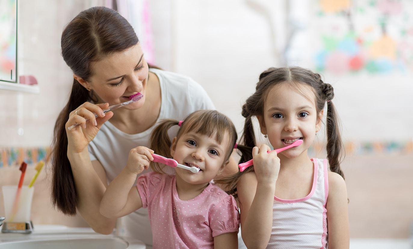 igiene orale in famiglia